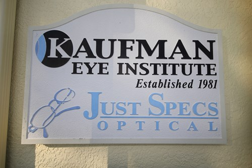 Kaufman Eye Institute Bushnell Sign