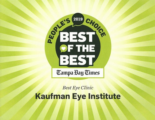 Best of the Best Tampa Bay Times Best Eye Clinic